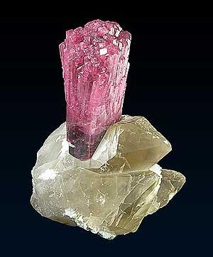 Liddicoatite, Minh Tien pegmatite, Luc Yen district, Vietnam; 14.7 x 15.7 x 20.6 cm; Dan Weinrich/Frederic Escaut specimen and photo
