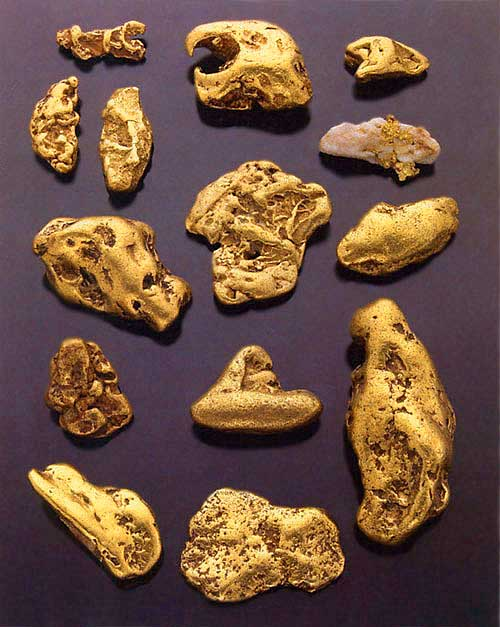 Gold nugget collection to be auctioned at Bonhams & Butterfields