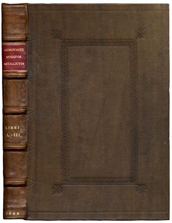 Aldrovandi's <i>Musaeum Metallicum</i> (1648)