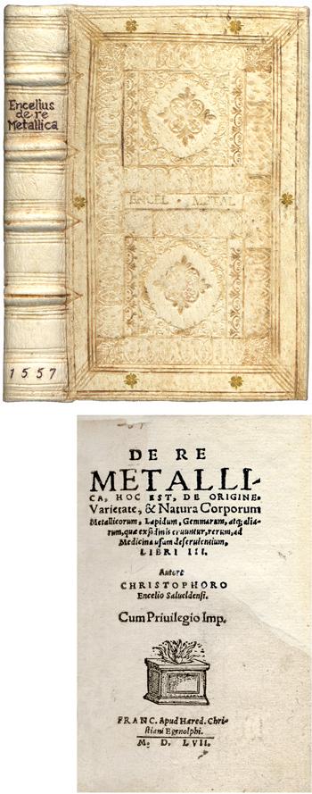 <br><font size=4>ENTZELT, Christoph (1557) <i>De re metallica</i></font size=4>