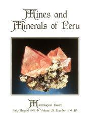 Mines and Minerals of Peru