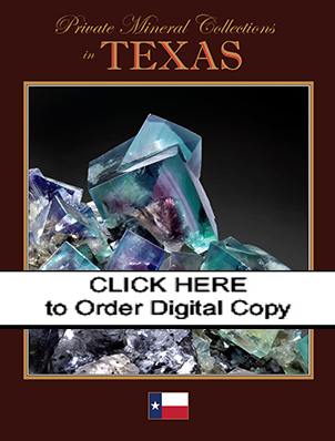 DIGITAL Private Mineral Collections in Texas I, Supplement to January-February 2009