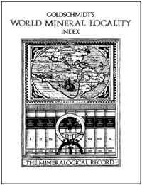 Goldschmidt's World Locality Index