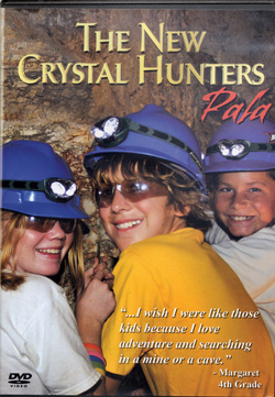 DVD:  The New Crystal Hunters — Pala