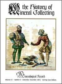 The History of Mineral Collecting, 1530-1799