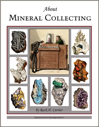 About Mineral Collecting  <b>SORRY! SOLD OUT!</b>