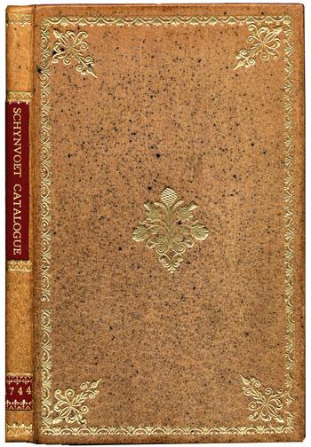Schynvoet's <i>Catalogus musaei praestantissimi fossilium</i> (1744)