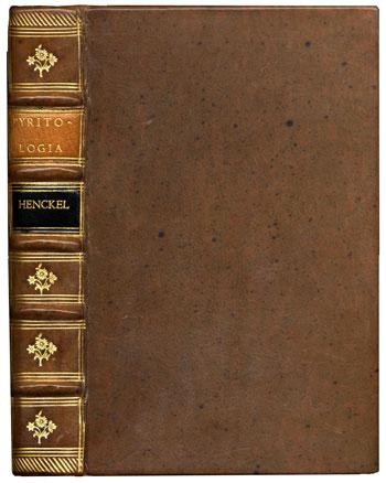 Henckel's <i>Pyritologia</i> (1757)