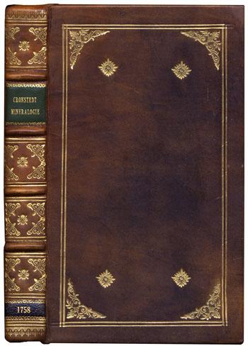 Cronstedt's <i>Mineralogie, eller Mineral-Rikets</i> (1758)