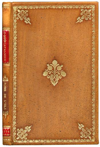 Rome de l'Isle's <i> Catalogue d'une Collection de Mineraux du Cabinet de M. D***</I> (1778)