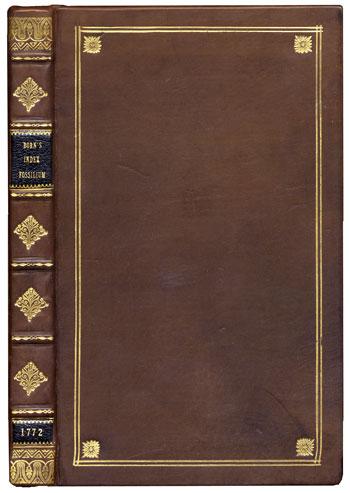Born's <i>Index Fossilium</i> (1772)