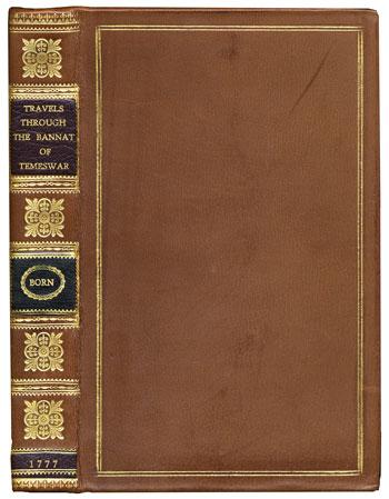 Born's <i>Travels Through the Banat of Temeswar</i> (1777)