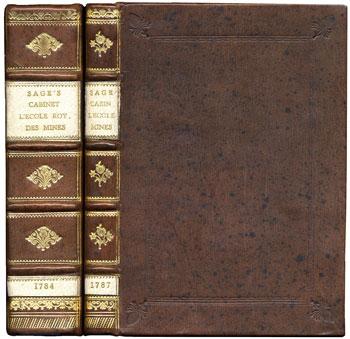 Sage's <i>Description Methodique du Cabinet de l'Ecole Royale des Mines</i> (1784) and supplement (1787)