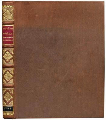 Gallitzen's <I>Description Abrégée et Méthodique des Minéraux</I> (1792)