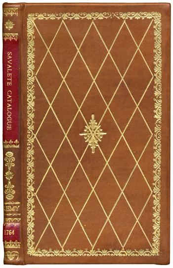Remy's <i>Caralogue raisonne des Mineraux … de M. Savalete de Buchelay</i> (1764)