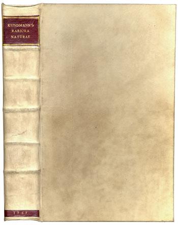 Kundmann's <i>Rariora Naturae</i> (1737)