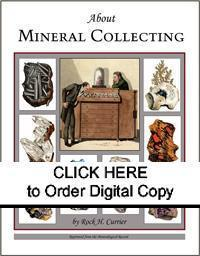 DIGITAL About Mineral Collecting compilation by Rock H. Currier