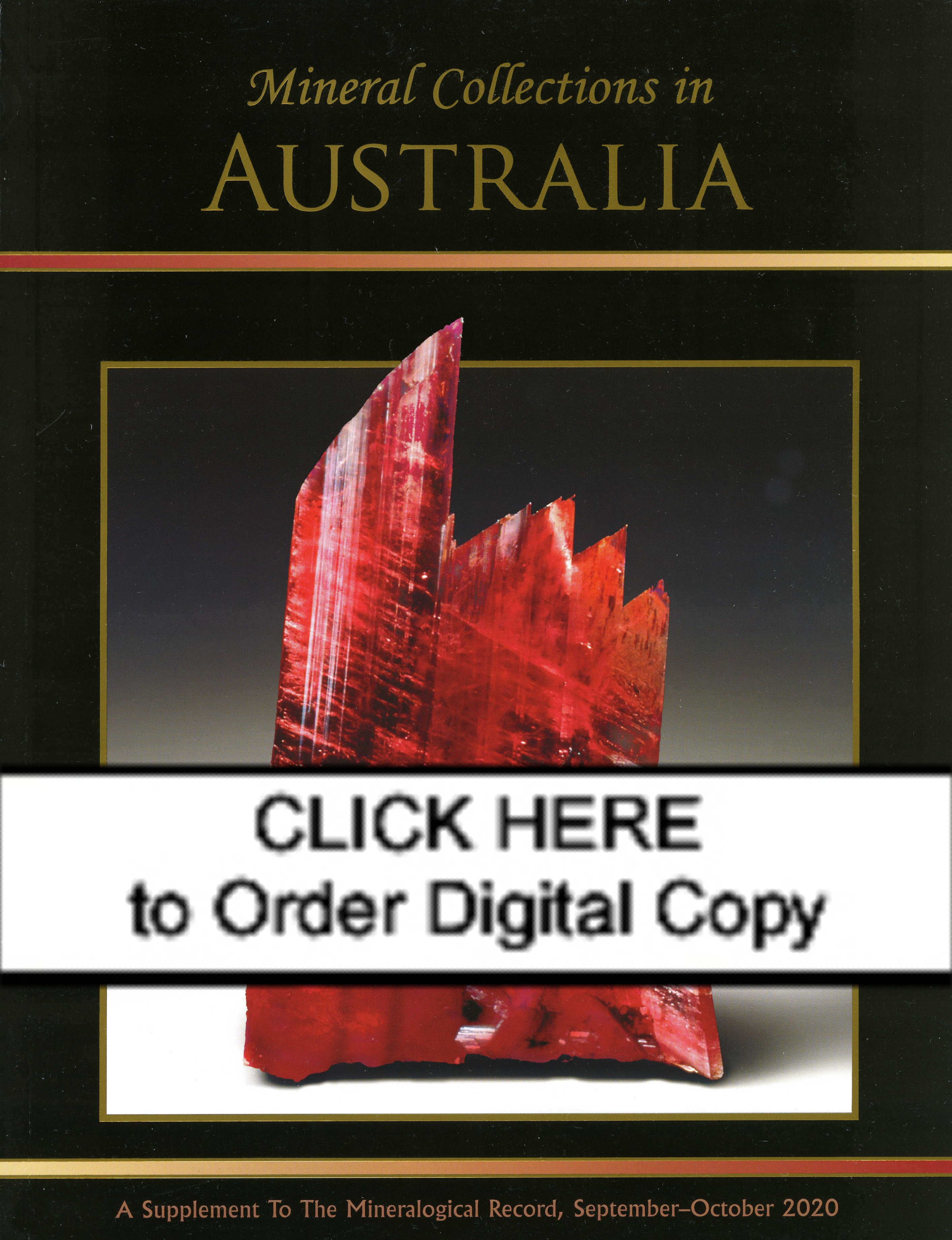 DIGITAL Mineral Collections in Australia